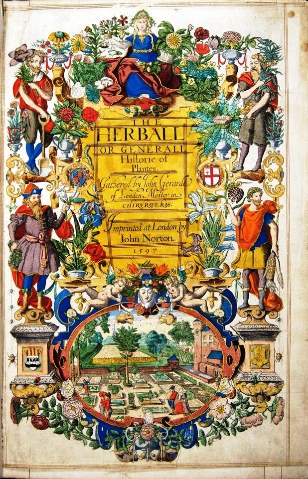 John Gerard, The Herball (1597)