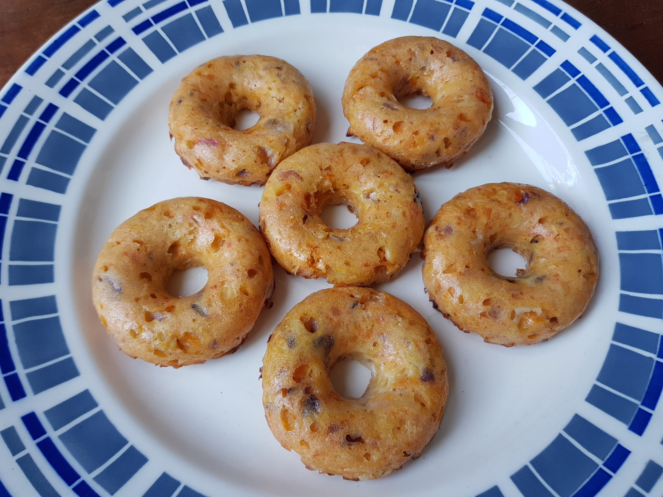 donuts met groene twist