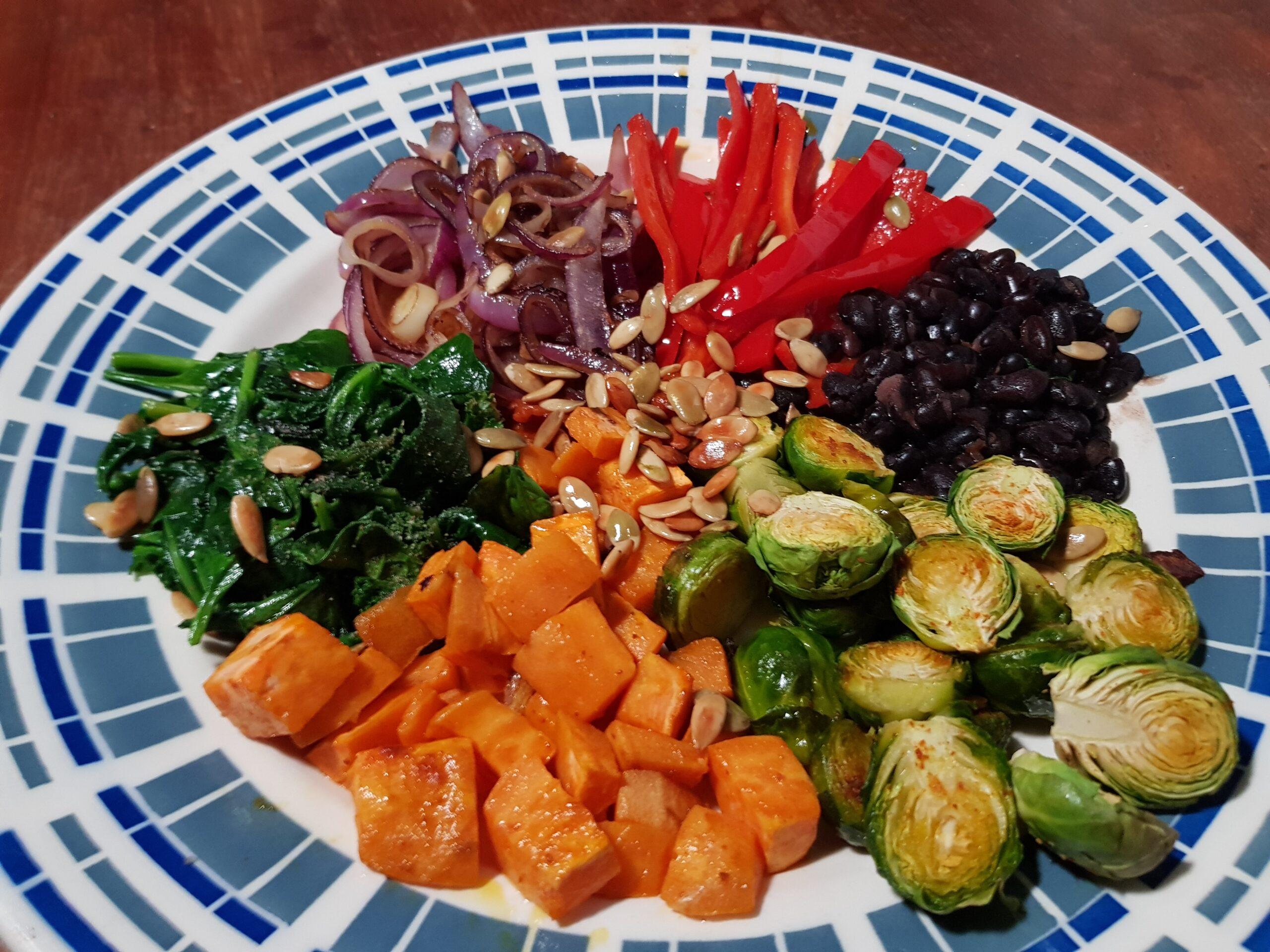 Groot groentefestijn
