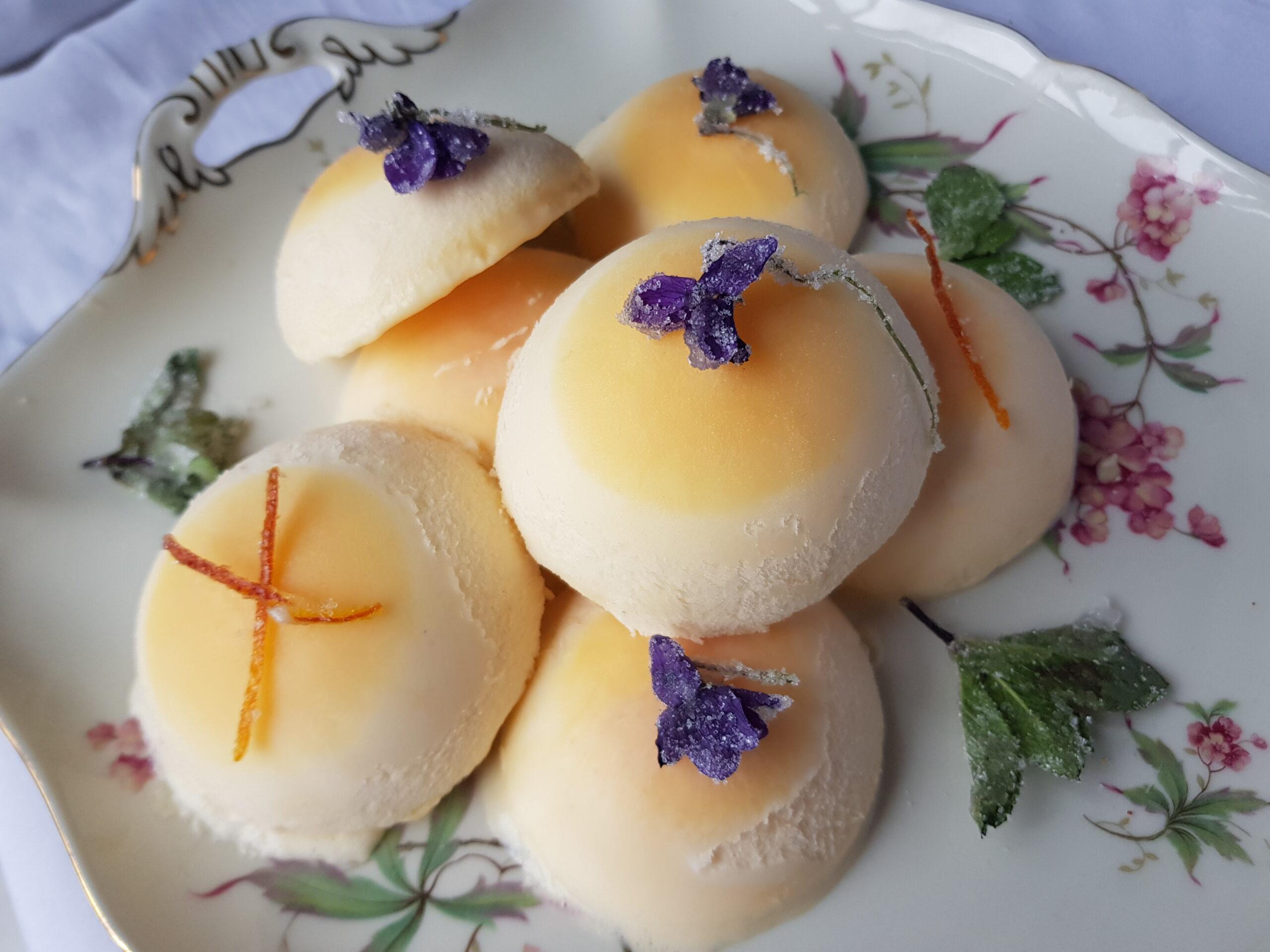 Sinaasappelparfait